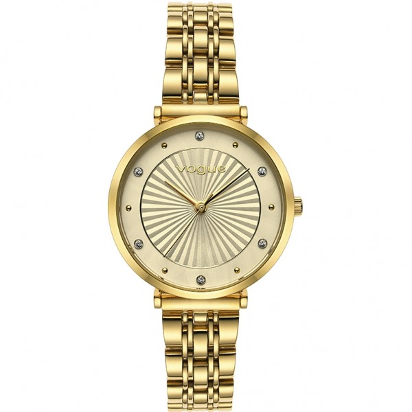 VOGUE Bliss 815342 Crystals Gold Stainless Steel Bracelet