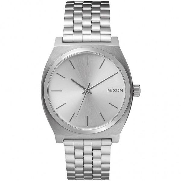 NIXON Time Teller A045-1920-00 Silver Stainless Steel Bracelet