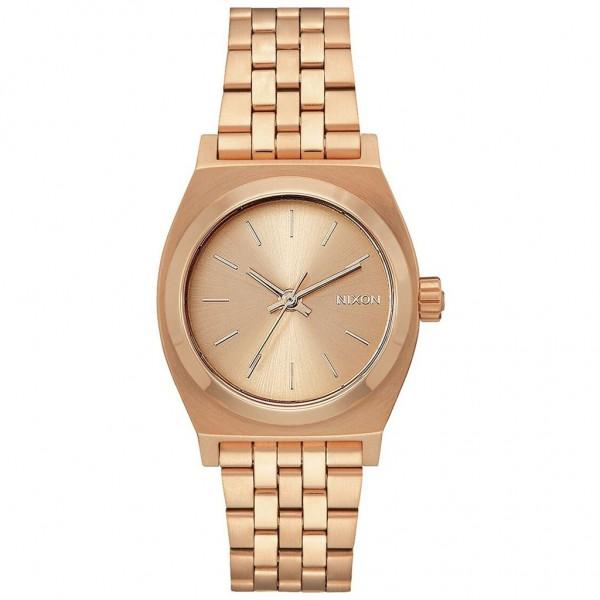 NIXON Medium Time Teller A1130-897-00 Rose Gold Stainless Steel Bracelet