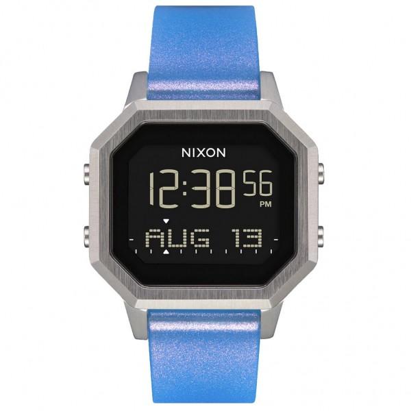 NIXON Siren A1211-3461-00 Blue Rubber Strap