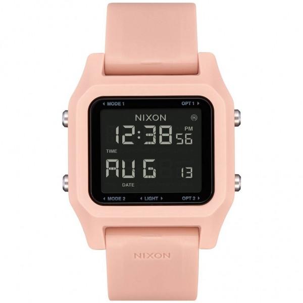 NIXON Staple A1309-220-00 Pink Rubber Strap