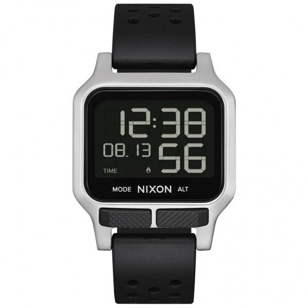 NIXON Heat A1320-130-00 Black Rubber Strap