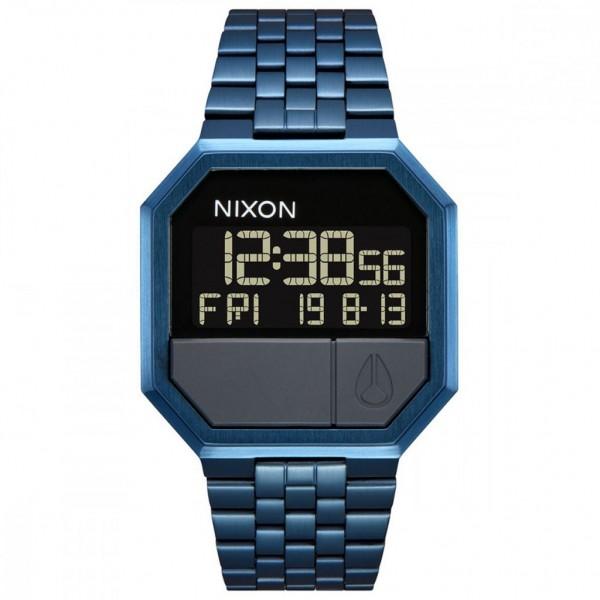 NIXON Re-Run A158-300-00 Blue Stainless Steel Bracelet