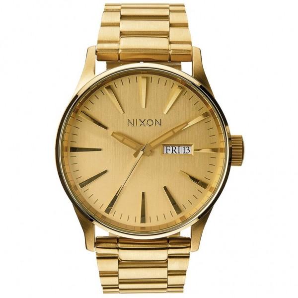 NIXON Sentry A356-502-00 Gold Stainless Steel Bracelet