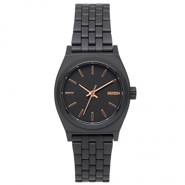 NIXON Small Time Teller A399-957-00 Black Stainless Steel Bracelet