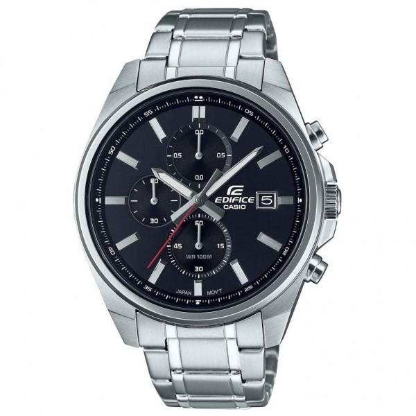 CASIO Edifice EFV-610D-1AVUEF Chrono Silver Stainless Steel Bracelet