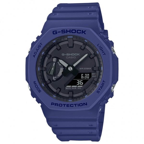 CASIO G-Shock GA-2100-2AER Blue Rubber Strap