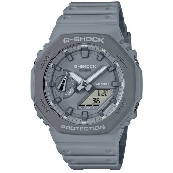 CASIO G-Shock GA-2110ET-8AER Grey Rubber Strap