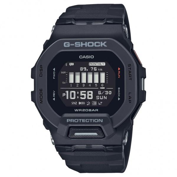 CASIO G-Shock Smartwatch GBD-200-1ER Black Rubber Strap