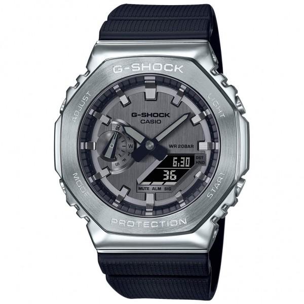CASIO G-Shock GM-2100-1AER Black Rubber Strap