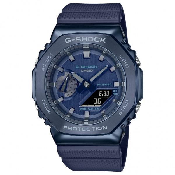 CASIO G-Shock GM-2100N-2AER Blue Rubber Strap