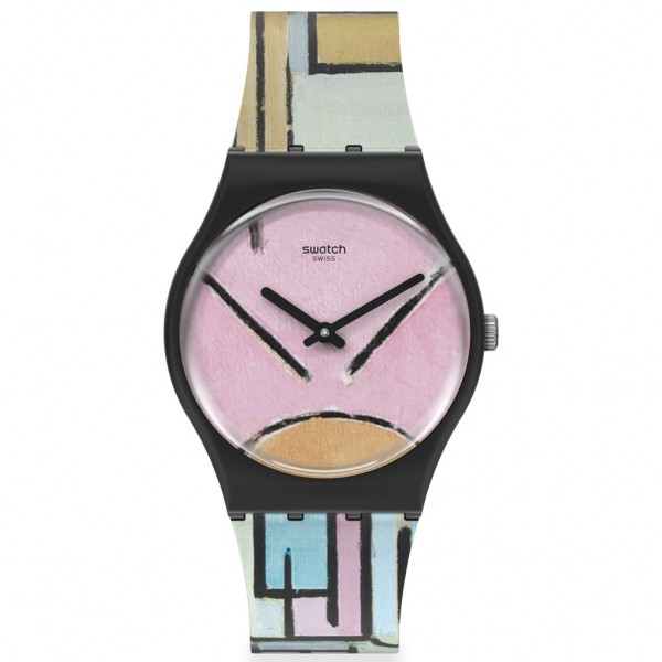 SWATCH Composition In Oval With Color Planes 1 GZ350 MoMA Collection
