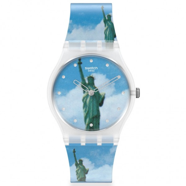 SWATCH NEW YORK by TADANORI YOKOO, The Watch GZ351 MoMA Collection