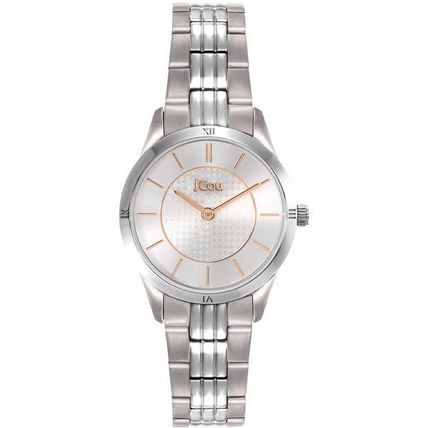 JCOU Adelle JU19039-1 Silver Stainless Steel Bracelet