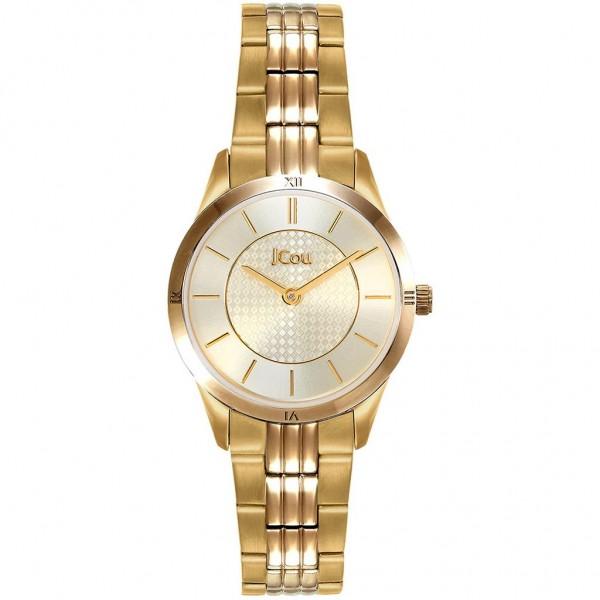 JCOU Adelle JU19039-4 Gold Stainless Steel Bracelet
