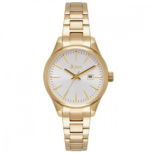 JCOU Aphrodite JU19051-3 Gold Stainless Steel Bracelet