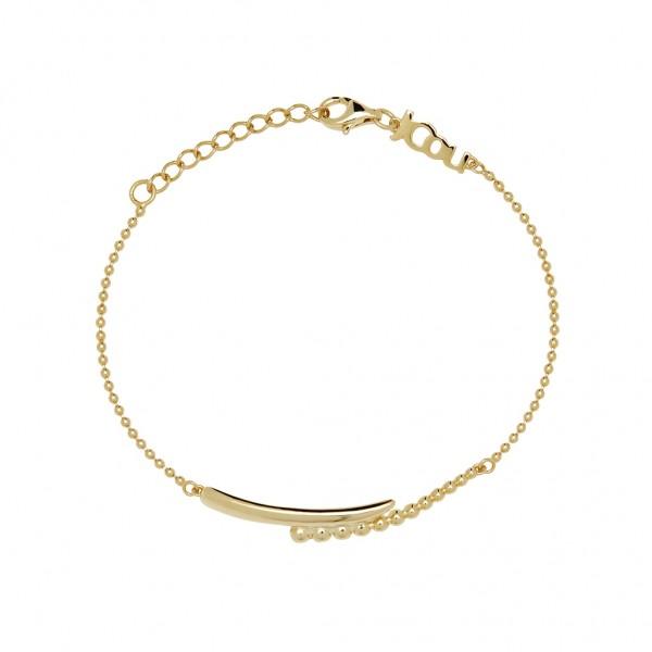 JCOU The Dots Bracelet Silver 925° Gold Plated 14K JW900G2-01
