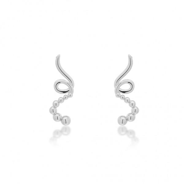 JCOU The Dots Earring Silver 925° JW900S4-03