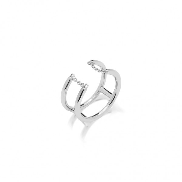 JCOU Chains Ring Silver 925° JW904S0-03