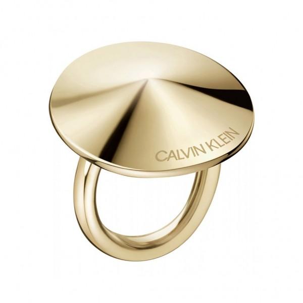 CALVIN KLEIN Spinner Ring Gold Stainless Steel KJBAJR100208