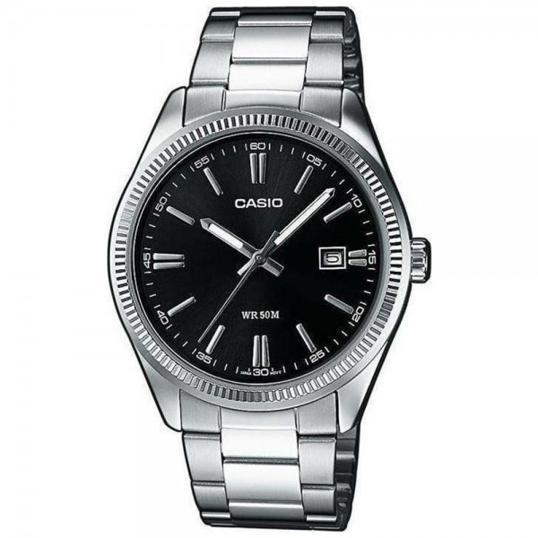CASIO Collection LTP-1302PD-1A1VEF Silver Stainless Steel Bracelet