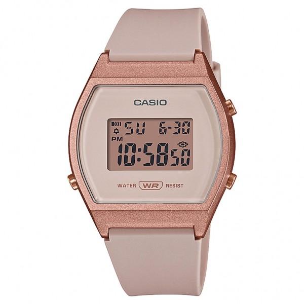CASIO Standard LW-204-4AEF Pink Rubber Strap