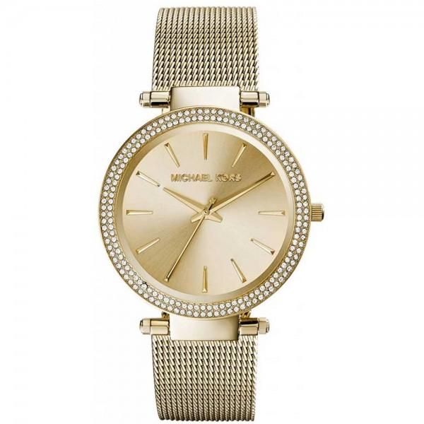 MICHAEL KORS Darci MK3368 Crystals Gold Stainless Steel Bracelet