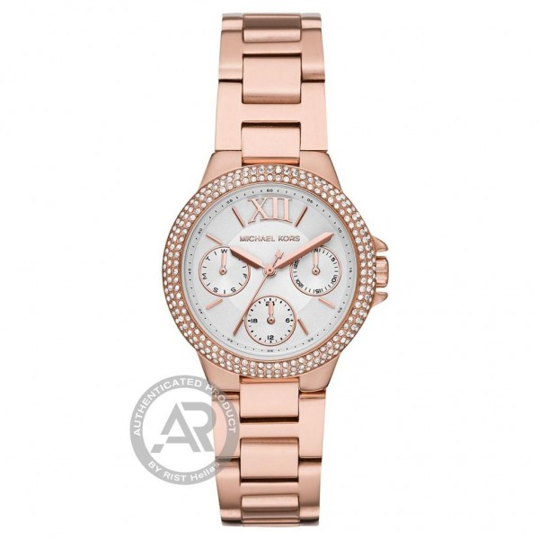 MICHAEL KORS Camille MK6845 Crystals Rose Gold Stainless Steel Bracelet