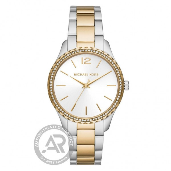 MICHAEL KORS Layton MK6899 Crystals Two Tone Stainless Steel Breacelet