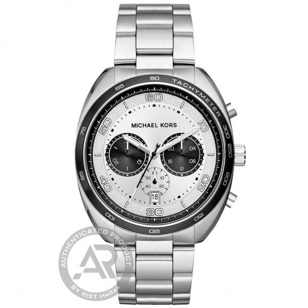 MICHAEL KORS Dane MK8613 Chrono Silver Stainless Steel Bracelet