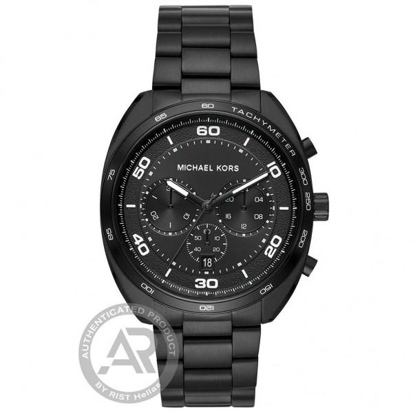 MICHAEL KORS Dane MK8615 Chrono Black Stainless Steel Bracelet