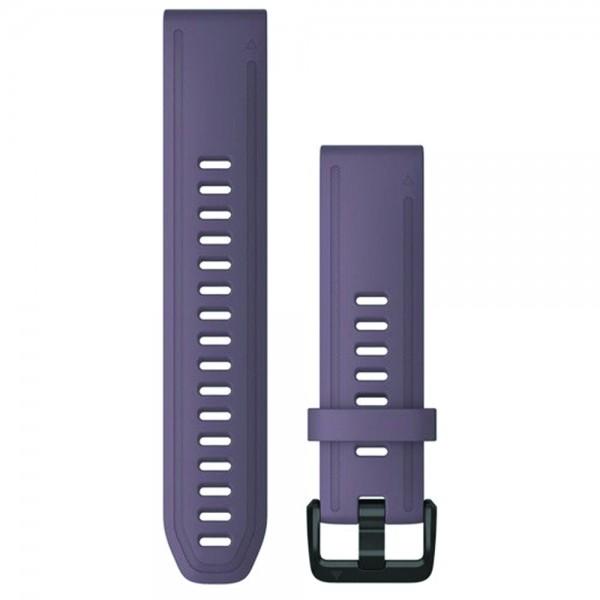 GARMIN Λουράκι QuickFit 20 Purple Storm Silicone Fenix 6S 010-12871-00