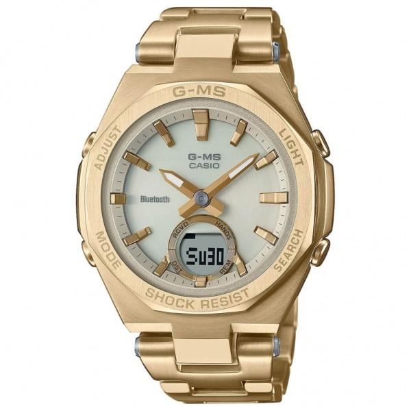CASIO G-Shock Smartwatch MSG-B100DG-9AER Solar Gold Stainless Steel Bracelet