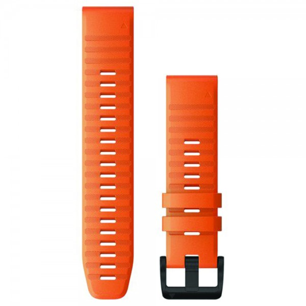 GARMIN Λουράκι QuickFit 22 Ember Orange Silicone Fenix 6 010-12863-01