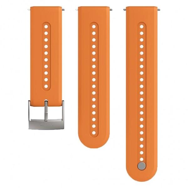 SUUNTO Watch Bands Athletic 7 Granite Orange Silicone 24mm SS050688000