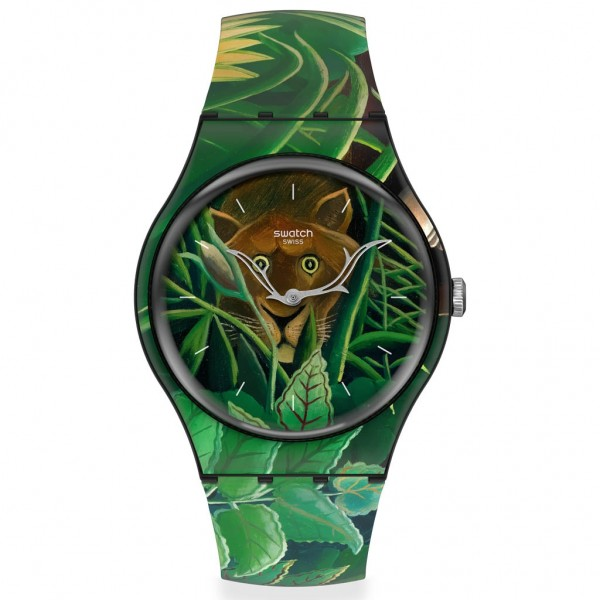 SWATCH THE DREAM by HENRI ROUSSEAU, The Watch SUOZ333 MoMA Collection