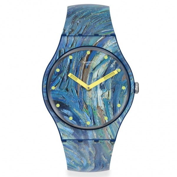 SWATCH THE STARRY NIGHT by VINCENT VAN GOGH SUOZ335 MoMA Collection