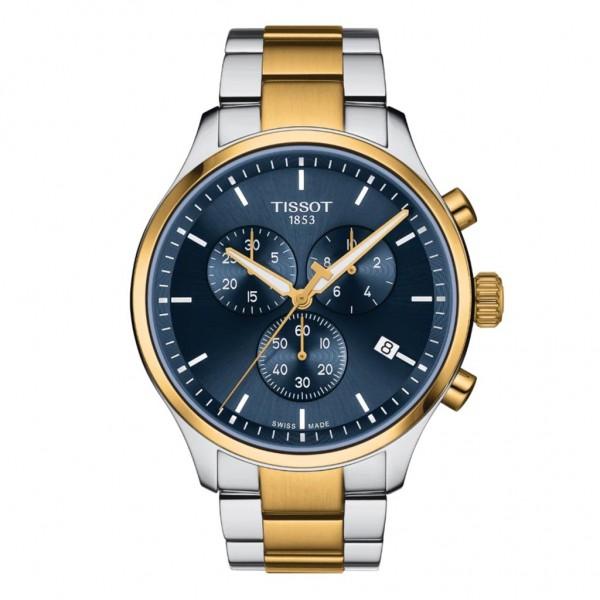 TISSOT T-Sport Chrono XL Two Tone Stainless Steel Bracelet T1166172204100