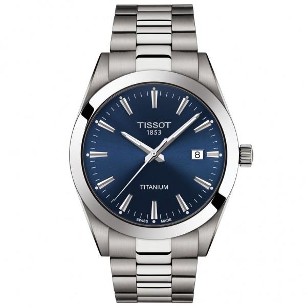 TISSOT T-Classic Gentleman Silver Titanium Bracelet T1274104404100