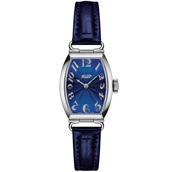 TISSOT Heritage Porto Small Lady Quartz Blue Leather Strap T1281091604200