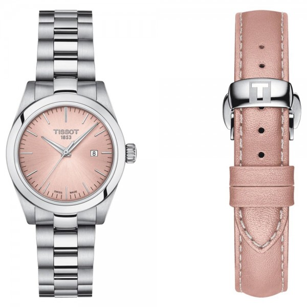 TISSOT T-Classic T-My Lady Silver Stainless Steel Bracelet BoxSet T1320101133100