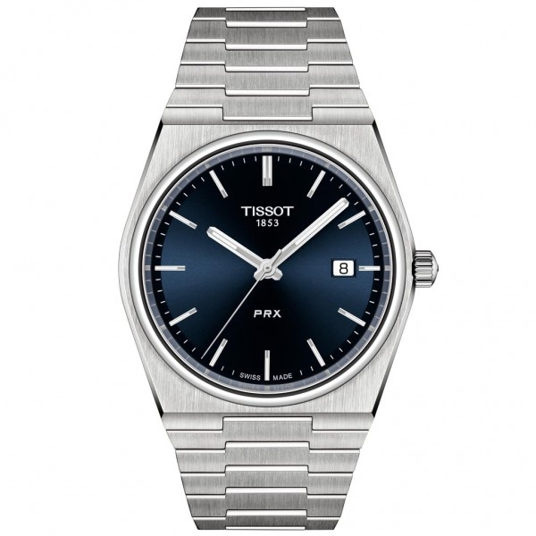 TISSOT T-Classic PRX 40 Silver Stainless Steel Bracelet T1374101104100