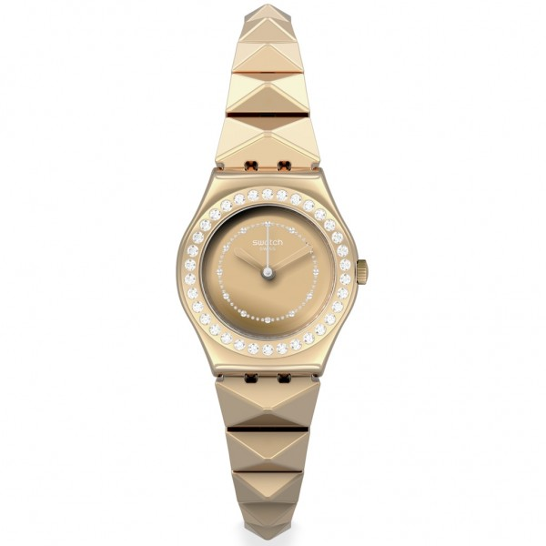 SWATCH Lilibling YSG169G Rose Gold Stainless Steel Bracelet